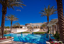 Luxury vacation rental in Rancho Mirage by Oasis Rentals in Palm Springs
