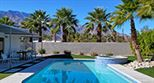 Modern Palm Springs mid century rental by Oasis Rentals